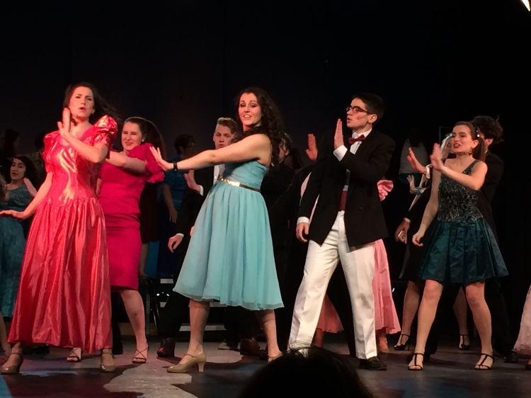 Katya dancing