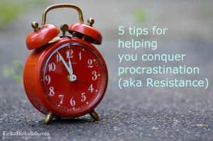 5 tips - procrastination