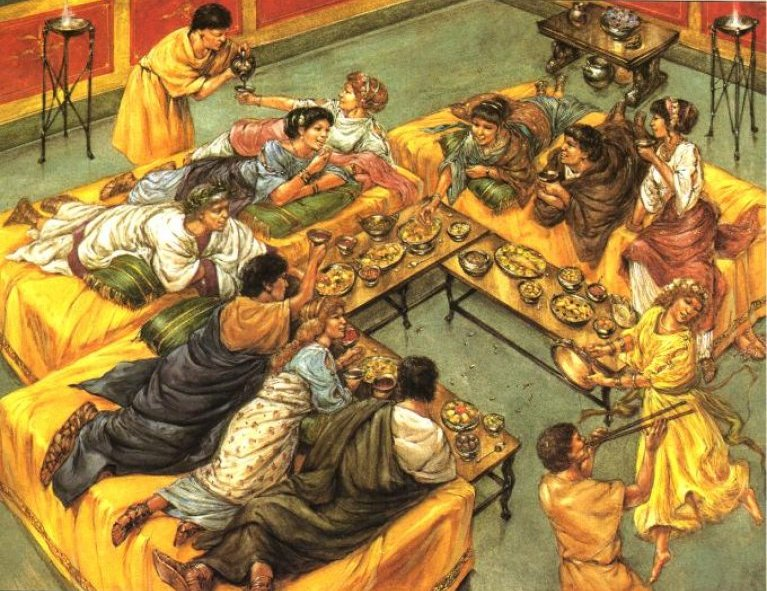 triclinium_meal
